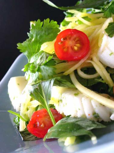 salad - green mango salad