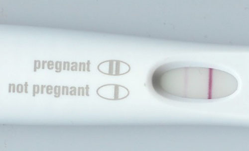 Is an early positive on a pregnancy test usually a good sign? / myLot