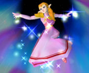 Zelda - This is a pic of Zelda after she reappears.