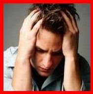 Are the bills stressing you out? - A picture of a frustrated man clucking his hair. He has bills to pay yet does not have the money. He is angry yet the anger is impotent. He can't do anything and has no one to turn to.