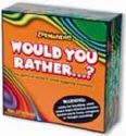Would You Rather Game - This is a game that helps to get to know how people think.