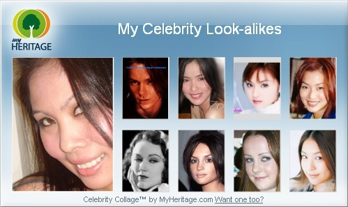Celeb look alike... - My Celeb look alike...