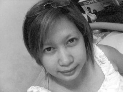 thats a black and white shot - i am not just kind a look like a kind person.