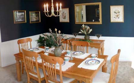 Dining Room - A picture of a nice dining room..