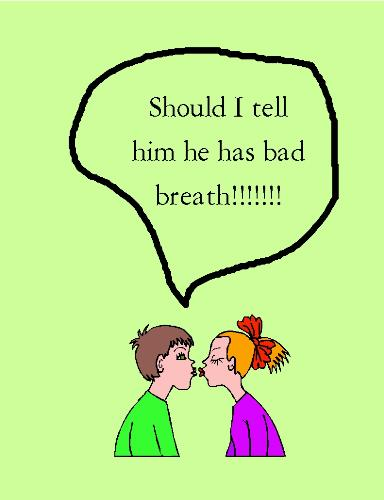 Bad breath! - Should I tell this person he has bad breath.