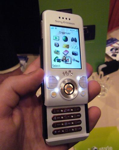 The Sony Ericsson W580 - The Sony Ericsson W580