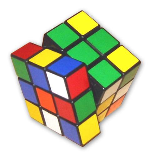 Rubik's Cube - The famed Rubik's Cube, a mechanical puzzle invented by the Hungarian Erno Rubik.