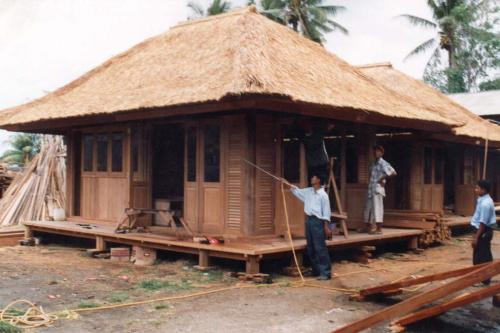 wooden house - wooden house are cozy but quite vulnerable to storm and fire. what do you think?