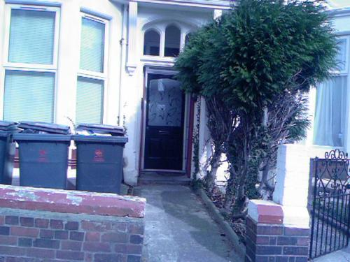 my new place - This is the new place me and my boyfriend are getting, we've got the flat at the back with a garden all to ourselves!
