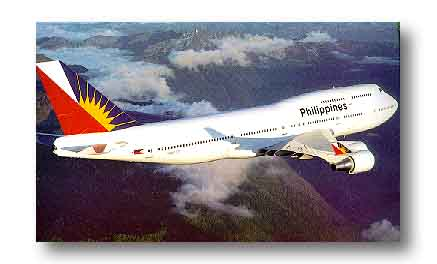 Philippine Air Lines - The oldest airline company in the Philippines.