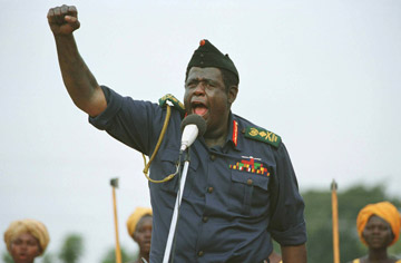 Forest Whitaker - As Idi Amin, in Last King of Scotland