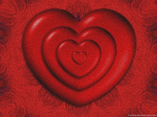 sacrificing for love - pic of red heart