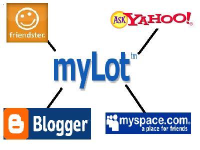 MyLot... The Best! - MyLot... A combination of MySpace, Friendster, Yahoo Ask, & Blogger.