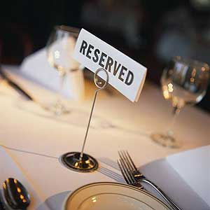 reserved - reservation and its effects