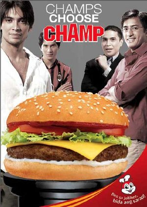 champions choose jollibee - http://tinyurl.com/2xvhbn  link is the source of the picture jollibee, champions