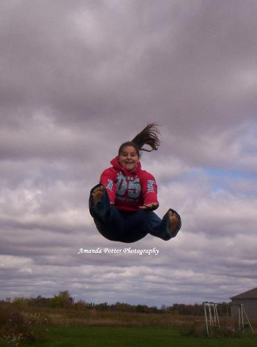 Falling from Heaven - This photo is from the portfolio of Amanda Potter's Photography. I have permission to share a small selection of her work. I am very proud of my daughter. She has a talent for capturing beautiful photos.