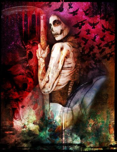 Death - I think this is atarot card, great picture though.