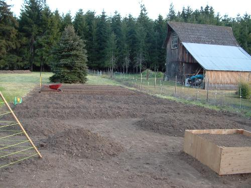 Garden plot - This is a picture of my current garden plot before last seasons planting. It is approximately 2500 square feet. Everything in it is organic. This is my hobby that I love and always enjoy new ideas to help with pests and weeds that are organic!