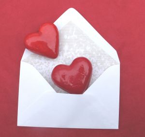 love letter -  picture of a love letter