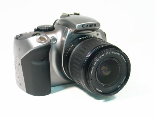 Canon EOS Digital Rebel - Canon EOS Digital Rebel 6.3MP SLR Camera with 18 to 55 mm Lens