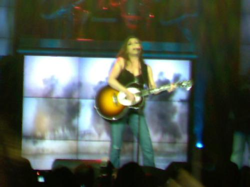 Gretchen in concert - This picture was taken Feb 2006 at a concert of hers in winston salem nc.