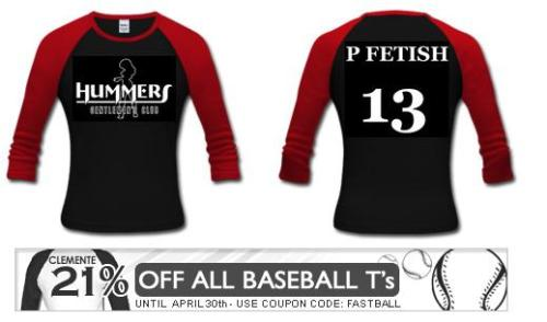 Baseball Jersey - A baseball jersey by Holly Cromer available at http://triggerhappyholly.spreadshirt.com