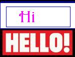 Hello & Hi - Hello to hi