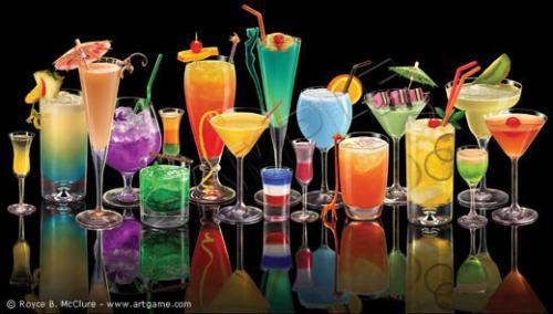 various cocktails - you got a fav?