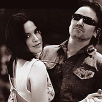 Andrea Corr of The Corrs & Bono - Andrea Corr of The Corrs & Bono have their own version of the song 'When The Stars Go Blue'