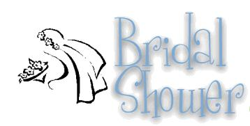 bridal shower party - what do you usually do during bridal shower party?