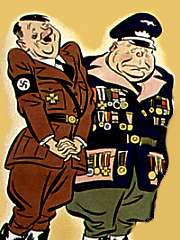 funny-hitler-1 - Adolf and Saddam which of these men are worse!!!?
