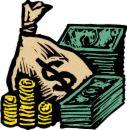 money - raining money