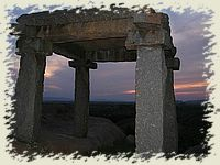 Sunset at the glorious ruins - tranquil