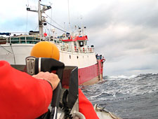 Customs ships on the lookout - On the look out for pirate fishermen