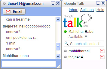 Bannnnnnned!!!! - gtalk, gmail banned