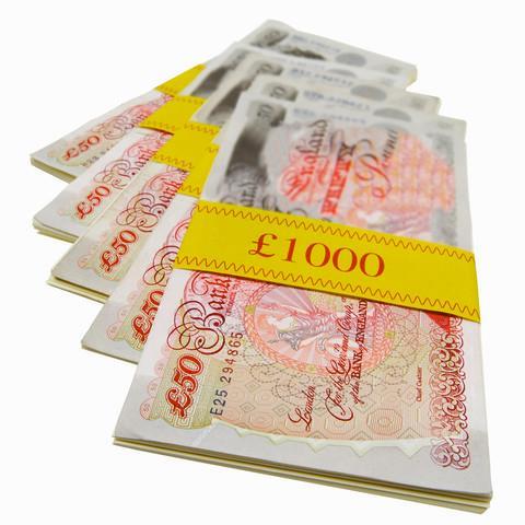 money - lots of money