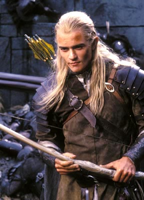 Legolas - Legolas in, Lord of the Rings: the Two Towers.