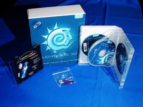 lightwave 8 - Newtek lightwave 3D 8