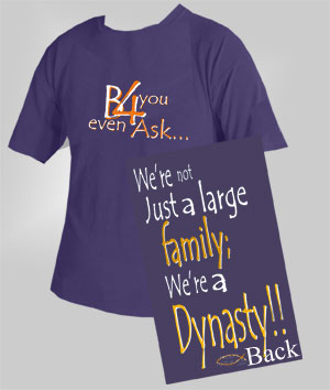 large family - we're not just a large family..