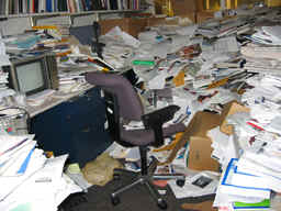 messy office - messy office vs. clean office