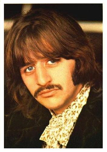 Ringo Starr - Ringo in a very cool shot.
