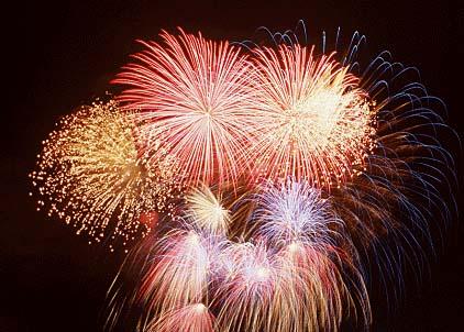 Fireworks - Professional fireworks display