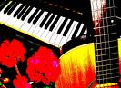 piano& guitar - Love to sing and play this two musical instruments.