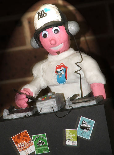 Should you speak ill of your colleagues? - A picture of a cute DJ. Taken from http://farm1.static.flickr.com/14/15748958_633ccca024.jpg?v=0 .