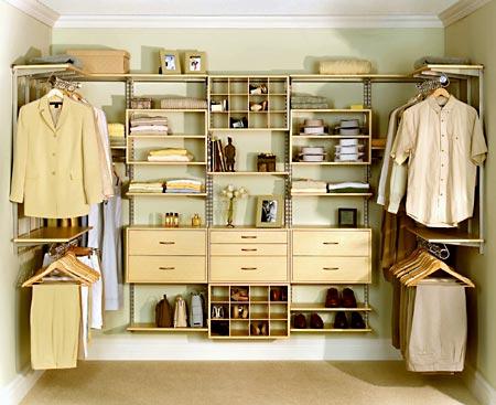 closet - organized closet