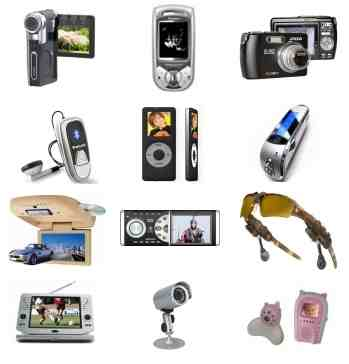 Electronic Items - Mobile phone and more items in this picture