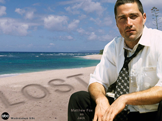 """Matthew Fox as """"Jack"""" - Promo from the tv show LOST"""
