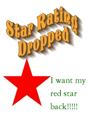 Star rating - Did your star rating drop