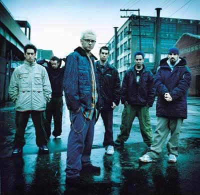 linkin park minutes to midnight - this is a photo of linkin park with new style and from new album cover minutes to midnight. its so good check it out