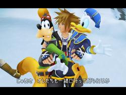 kingdom hearts  - picture of the video game kingdom hearts for playstation 2